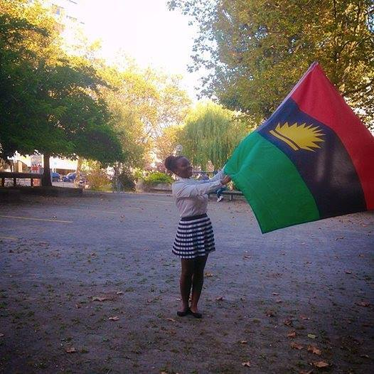 BiafraGirlFlag