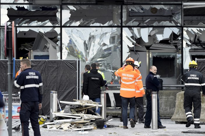 brussels airport -damages