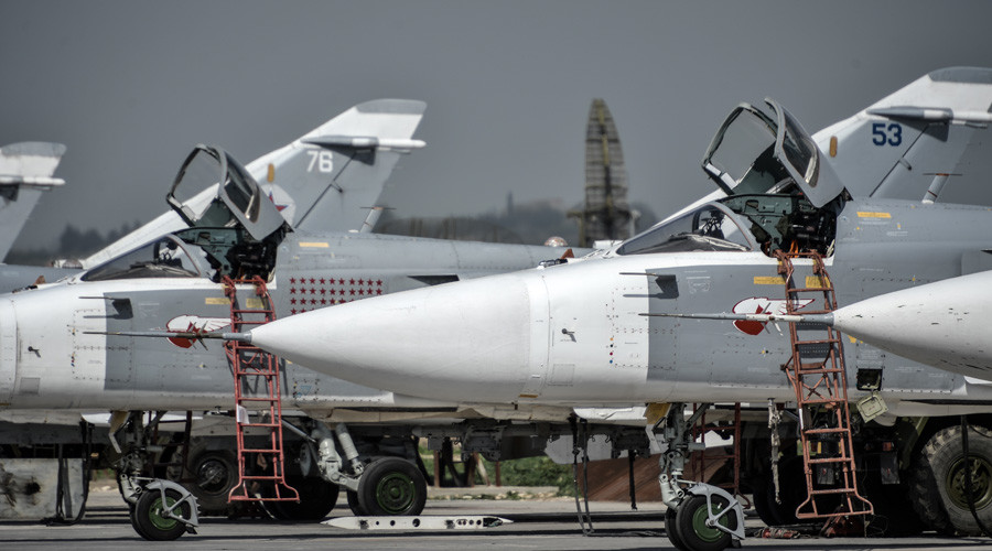 Russian Su-24 tactical Bombers