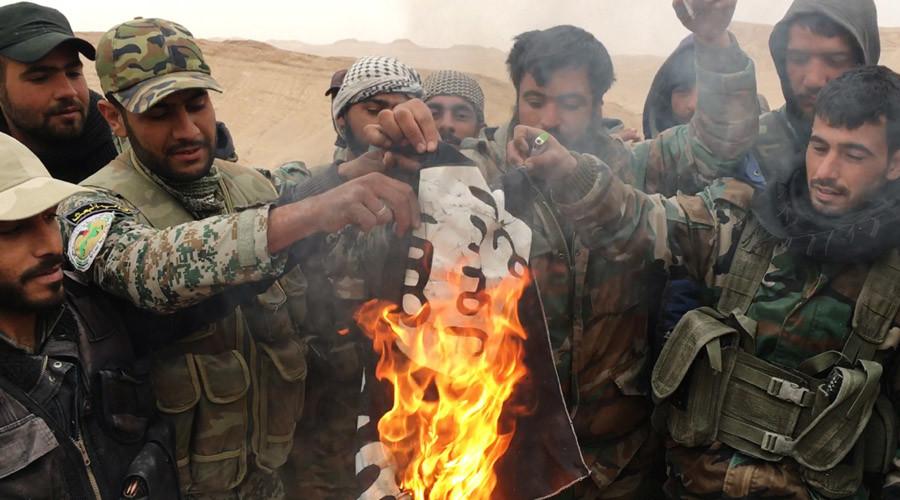 Syrian Army retakes Palmyra