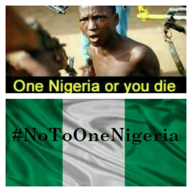 Say noTo One Nigeria