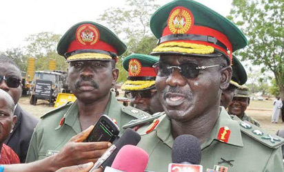 Buratai-army chief