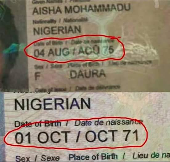 fake passport Aisha 2