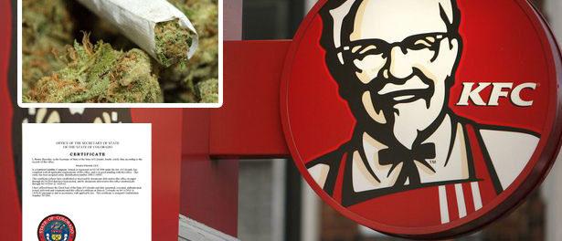 KFC marijuana