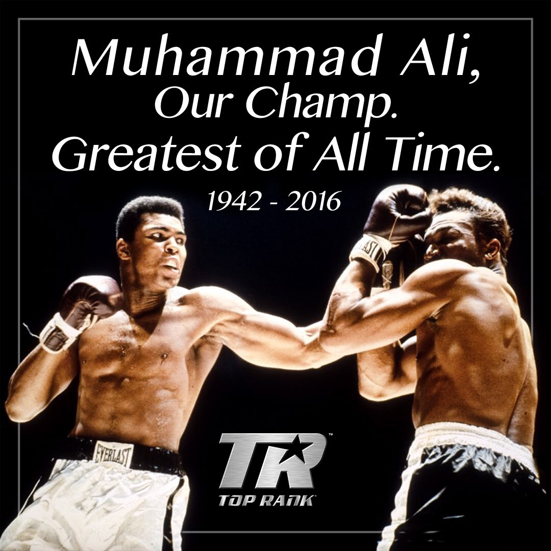 BREAKING NEWS! Boxing Legend Muhammad Ali, 'The Greatest ...