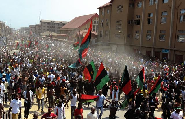Protests-Biafra
