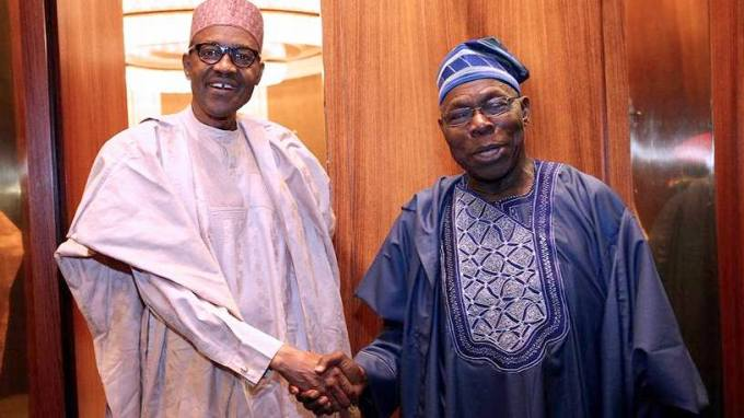 Obj and Buhari closed door